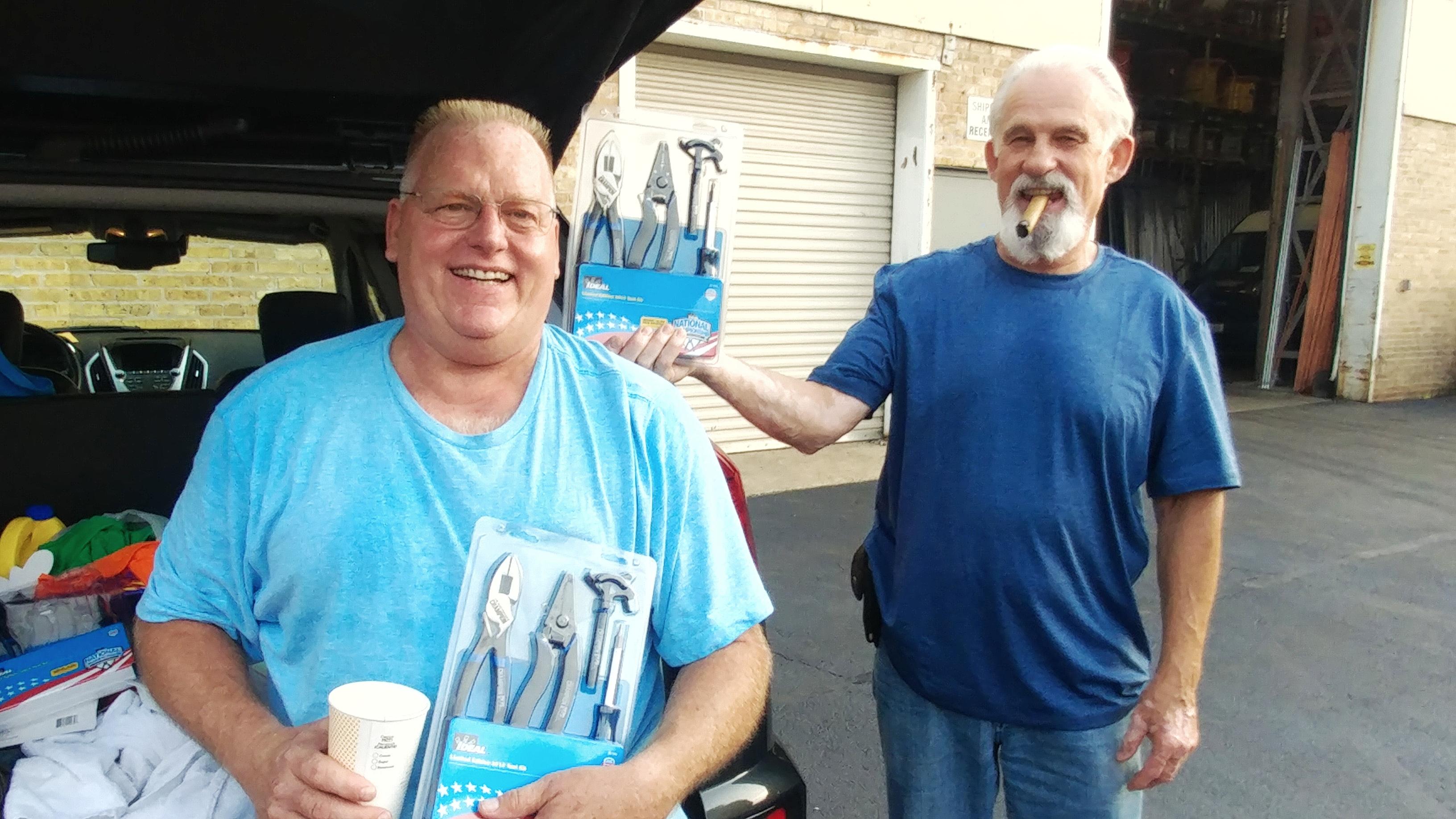 Tool Giveaway winners