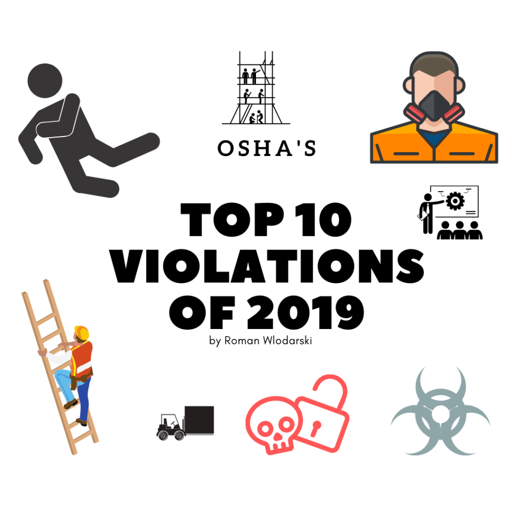 Top 10 OSHA Violations of 2019 by Roman Wlodarski