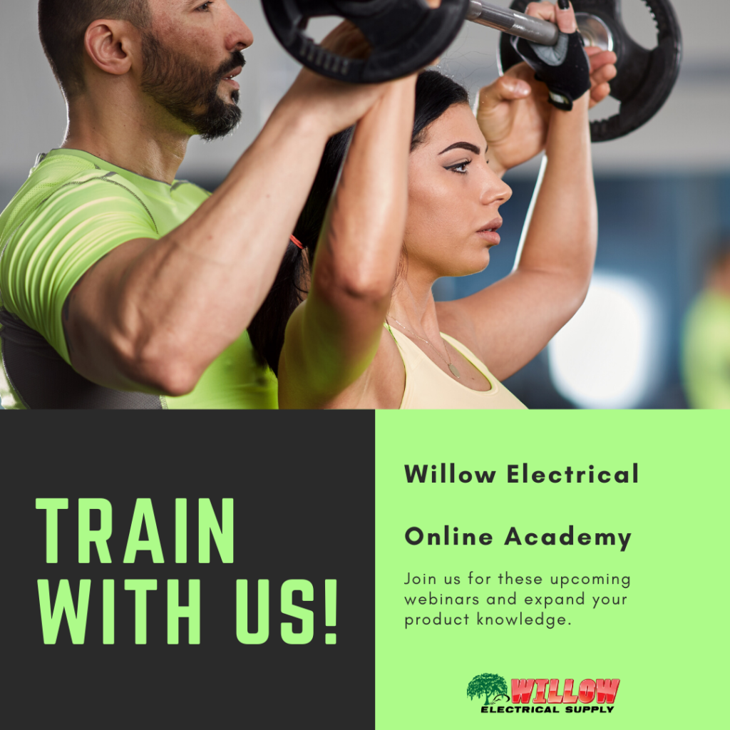 Train with us now
