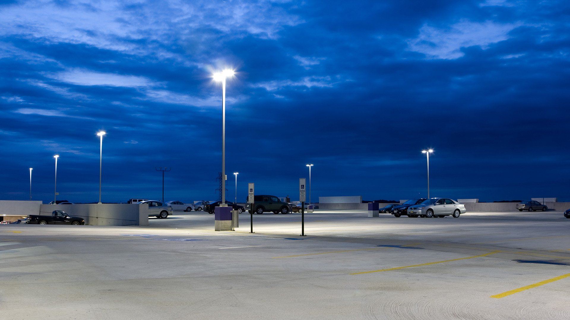 parking lighting system willow electrical