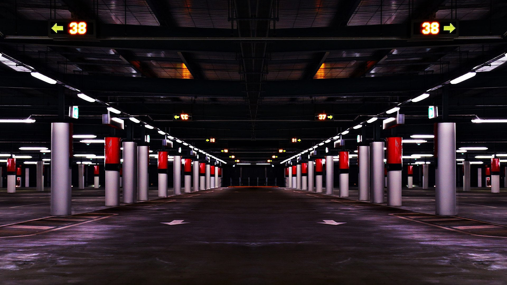 garage lighting system